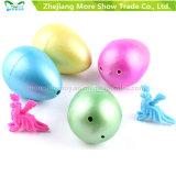 애완 동물 Dinasour 다채로운 성장하고 있는 계란 부화 계란은 5*6cm를