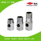 Dérivation en té durable de prise de l'eau d'acier inoxydable