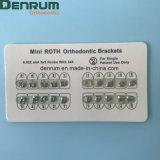 Brides orthodontiques de Roth de brides dentaires de Denrum MIM mini