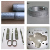 Het Metaal die van de Machine van de Gravure van het Metaal van de laser de Teller van de Machine/van de Vezel merken