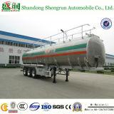 3 de Aanhangwagen van de Tank van het Aluminium van de as 45000L met de Opschorting van het Luchtkussen