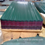 Precio de acero galvanizado prepintado de la hoja de la azotea de PPGI