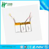 Batterie de polymère de lithium 60mAh 3.7V pour l'écouteur de Bluetooth