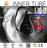 Câmara de ar de borracha natural 500-12 do veículo com rodas da câmara de ar três do triciclo da câmara de ar interna de Tuk Tuk do pneumático do triciclo
