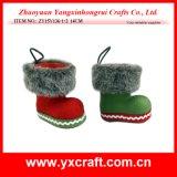 Boîte-cadeau de Noël de gaine de tissu de Noël de la décoration de Noël (ZY15Y138-1-2)