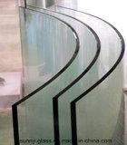 5mm-12mm熱い曲げられたガラス(和らげられる) -曲がったガラス