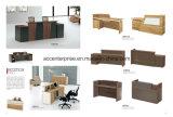 新しいデザインおよび方法オフィス用家具の木のレセプション表