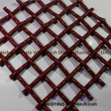 Хорошее качество гофрированные проволочной сетки для горно
