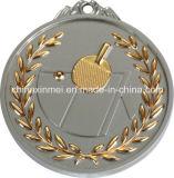 7cm de Medaille van de Voetbal van de Kleur van Twee Toon