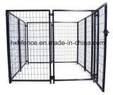 PVC enduit ou cage extérieure de crabot de tube carré enduit de poudre