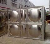Tanque secional modular do tanque de água do painel do aço inoxidável