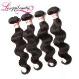 Оптовая продажа фабрики отсутствие линяя волос малайзийца объемной волны девственницы