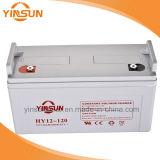 bateria solar de 12V 120ah para o sistema do painel solar