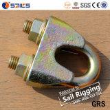 En13411-5 Galv可鍛性DIN1142ワイヤーロープクリップ