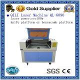 Corte del laser del CO2 de Reci 100W 150W y máquina de grabado para la madera, acrílico, metal, proceso de la tela
