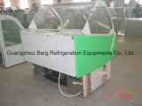 Fan Cooling 16 Pans Ce Certificate Ice Cream Display Freezer