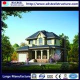 Casa de aço clara pré-fabricada