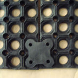 Revestimento de borracha ao ar livre/esteira de borracha da drenagem/esteira antiderrapante do assoalho