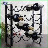 Cremalheira de fio do armazenamento do suporte do vinho