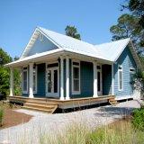 Светлая дом стальной структуры с поручнем алюминиевого сплава