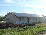 Edificio de acero con marco de acero del supermercado de la tienda en Vanuatu