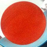 Branelli di vetro di colore rosso per la decorazione
