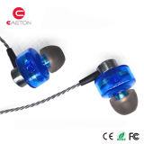 二重移動コイルが付いている3.5mmの耳の金属のイヤホーン