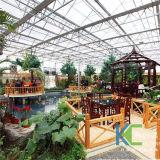 2017 새로운 디자인 Eco 관광 온실 공장 판매