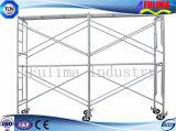 Andamio del marco de acero para la construcción de edificios (FLM-SF-005)