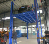 Вертикальный подъем автомобиля столба системы 4 стоянкы автомобилей автомобиля