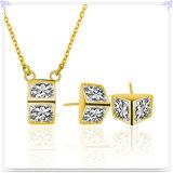 Juwelen van de Juwelen van de Manier van de Halsband van de manier de Echte Zilveren (NC0307)