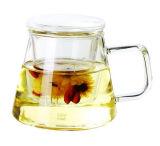 Чашка чая основного качества стеклянная с фильтром