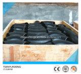Локоть стальной трубы углерода 90deg Asme сваренный прикладом