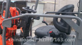 이탈리아 Hydrostatic System를 가진 중국 Zl06 Mini Farm Equipment Radlader Loader