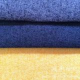 Tissu de toile de polyester avec le support pour les couvertures à la maison de sofa