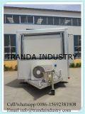 Heet! De mobiele Aanhangwagen van de Catering van de Kiosk van het Voedsel, Aanhangwagen van het Voedsel van de Kar van het Voedsel Towable