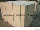 madera contrachapada impermeable de 19m m con el pegamento de Melame para el uso de la cabina
