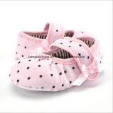 Ботинки 02 малыша младенца мягкие нижние крытые