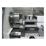 Machine de tour de tourelle de grande d'axe commande numérique par ordinateur d'alésage et de mandrin Cjk6150b-1 pour le métal