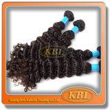 Unprocessed курчавый Weave бразильских волос