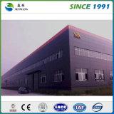 Estructura de acero de fábrica del precio del almacén moderno de la venta al por mayor