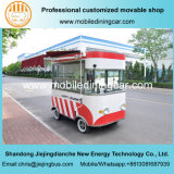 Camion de nourriture/chariot électriques personnalisés de nourriture avec le brevet national et le ce