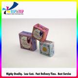 Коробка бумажной карточки изготовленный на заказ логоса мягкая