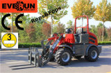 Pallet Forks를 가진 Everun Brand Front End Loader Er08