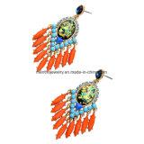 계산서 인종 다채로운 주옥 술 여자의 귀걸이 물 하락 디자인 결정에 의하여 장식용 목을 박는 보석