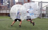 Aufblasbares Bumper Ball, Human Body Football, Soccer Football 1.2m 0.8mmpvc