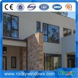 Aluminium van de Leverancier van China overspande het Witte Met een laag bedekte het Vaste Venster van het Glas