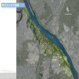 月の島の都市計画レンダリングのプロジェクト