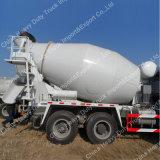 Hormigón de cemento del camión del mezclador 6X4 camión del mezclador