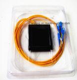 De nieuwe 1X4 Splitser van de Vezel van PC van Sc Optische